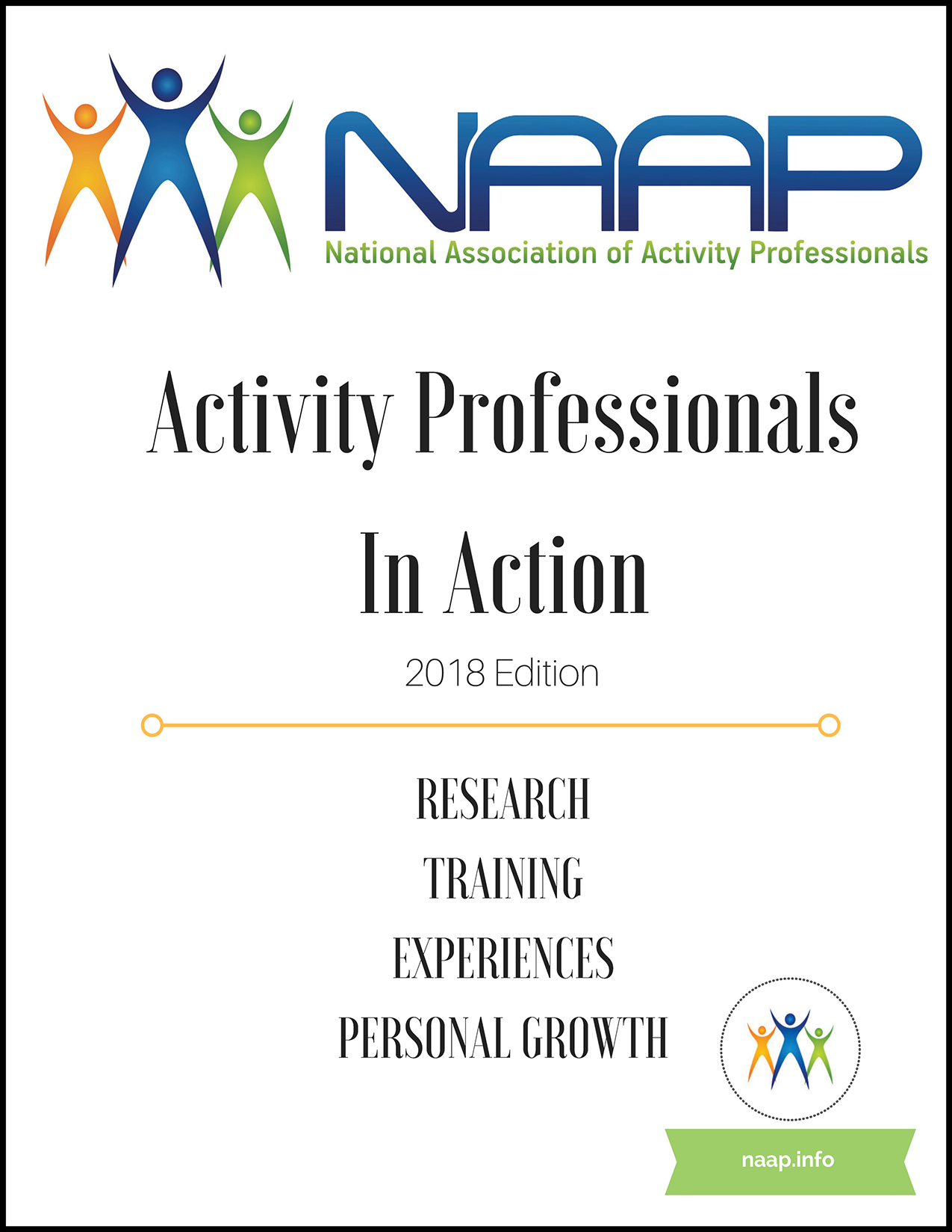 NAAP Activity Professionals in Action 2018